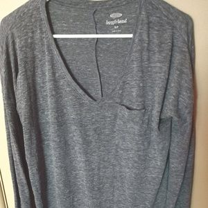 Old Navy Boyfriend Style Top Size Small